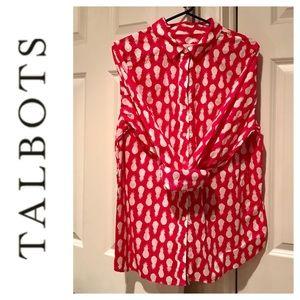 ✳️ Talbots Pineapple Top